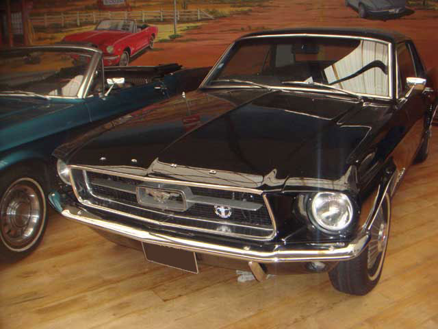 bandeau location mustang 1969